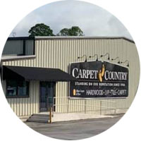 Storefront of Carpet Country